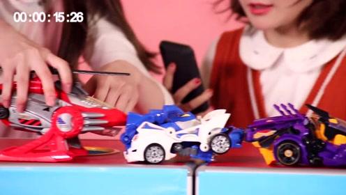 喵姐姐挑战吉尼斯世界纪录,最快时间匹配五个变形玩具