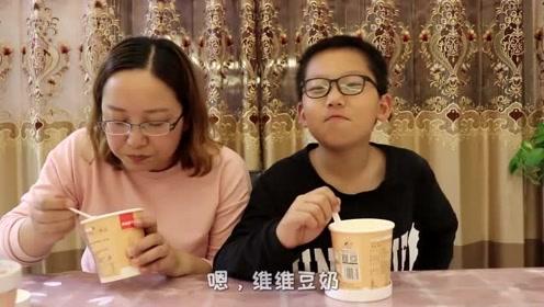 直接开水泡一下就能吃的豆腐脑,感觉好神奇,泡完之后是美味吗?