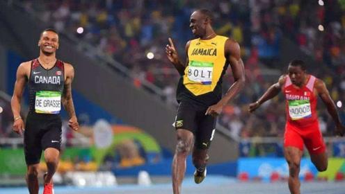 """博尔特200米最后冲刺阶段回头望月,""""尊重""""一下对手不好吗?"""