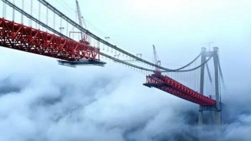 """印度""""击败""""中国?千亿悬索大桥""""吊打""""港珠澳,美:不敢相信!"""