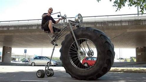 世界上最不寻常的自行车,外观一个比一个奇特,会骑一个算你牛