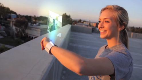 未来的手机功能会有多强大?屏幕拉伸、戴在手上或许都不是梦!