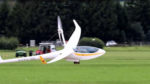 纯电动飞机,不用油靠空气飞行,飞行高度3千米