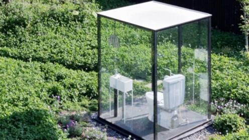 日本最开放的厕所,360度无死角透明,当地人:放心进