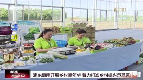 浦东惠南开展乡村嘉年华 着力打造乡村振兴示范区