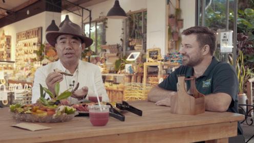 在昆士兰最大果园坐超大拖拉机边逛边吃 500种水果任你吃