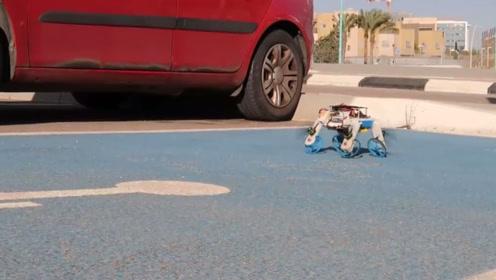 以色列研发出黑科技无人机,不仅能在天上飞,变形后还能在地上跑