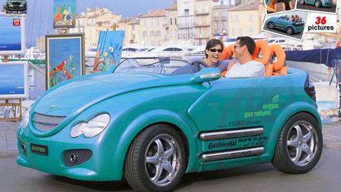 全球首辆可伸缩的汽车,4座跑车1秒变2座,遥控一按就能跑?