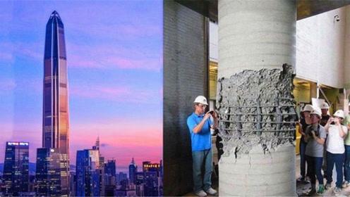 100多层的高楼,压力那么大,为什么钢筋和混凝土压不坏?