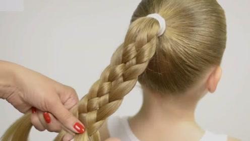 教你6款高马尾日常发型,每一款都能自己轻松完成