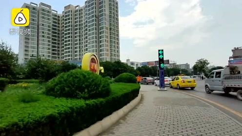 绕哭导航!甘肃最难转盘现8个红绿灯 司机懵圈特意研究路线