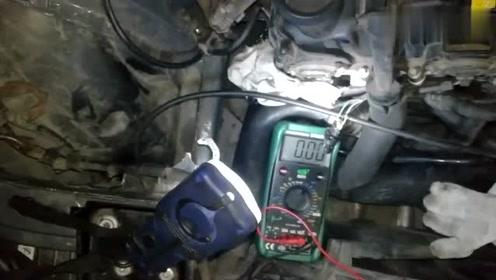 检查汽车霍尔传感器好坏,一个步骤就可以搞定