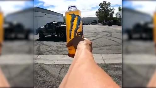 玩车人的瓶盖挑战!