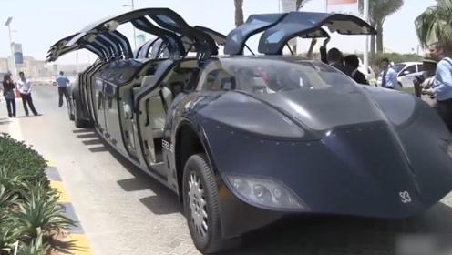 太任性了!迪拜花费7000万打造公共汽车,乘一次只需2元钱!