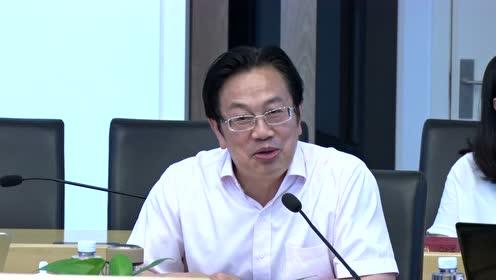 马克思主义学院学科建设情况专题调研座谈会