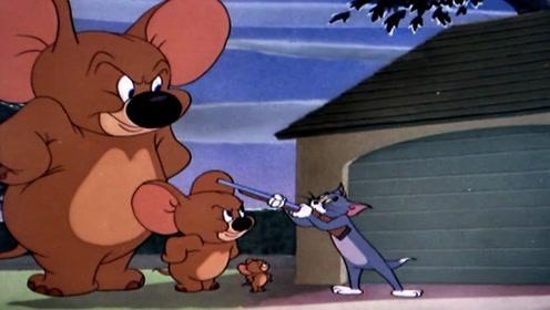 小象的妈妈也化妆成老鼠,汤姆猫蒙圈了