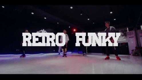 重庆渝北龙酷街舞葱花老师编舞《Retro Funky》