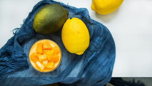 香甜芒果布丁,冰冰凉凉,做法简单,夏天的最爱!