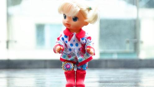 《猫扎特玩具》好想去雨里玩啊!好心情宝宝的造型再升级!