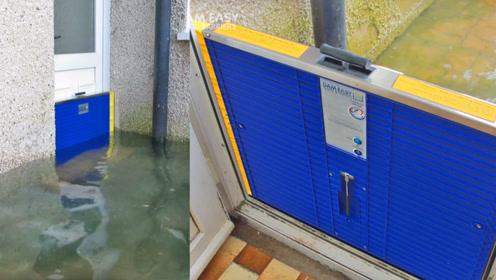 国外发明防洪水神器,就算在雨季也能保持家中干爽,比沙袋还实用