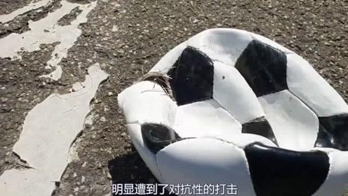 轮胎在面对冲了气的球时,显得力不从心,这是什么情况那?