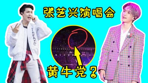 张艺兴南京演唱会依旧座无虚席,网传大量空座图是黄牛所为