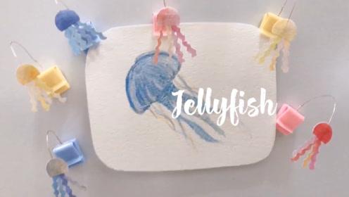 手作DIY:教你动手做出生活好物,水母便利夹小小的超可爱
