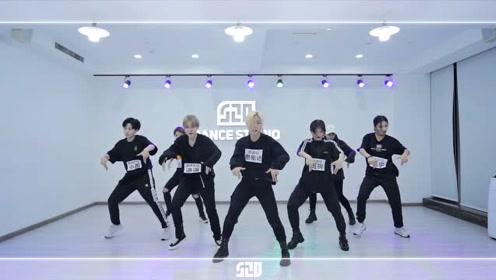 爱心发射EXO《Love Shot》翻跳练习室