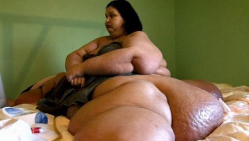 """体重达""""半吨""""的女子被男友抛弃,5年内减800斤""""惊艳众人"""""""