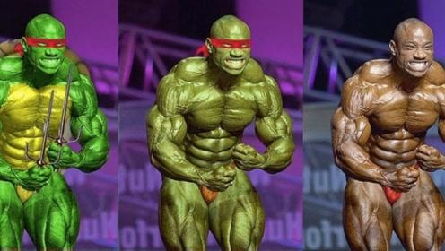 """健美界""""忍者神龟""""!他健身撸铁30年,身材和力量堪称宝刀未老"""
