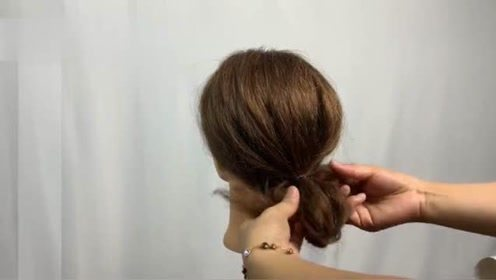 一分钟就可以变女神,扎发就是这么简单