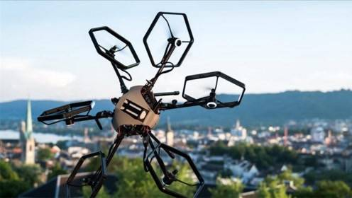 这变形金刚无人机,飞行像跳舞,能360度自由翻转