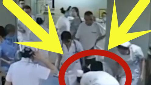 """白衣天使""""躁动""""起来,竟是患者昏倒在电梯间,下一幕暖哭众人!"""