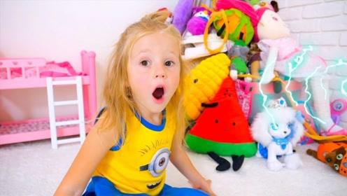 小萌娃喜新厌旧,玩具都一个个消失不见,知道真相的她很着急!