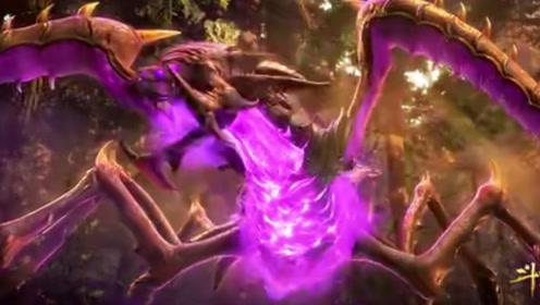 斗罗大陆:唐三同时吸收万年地穴与人面魔蛛,外附魂骨发生变异!
