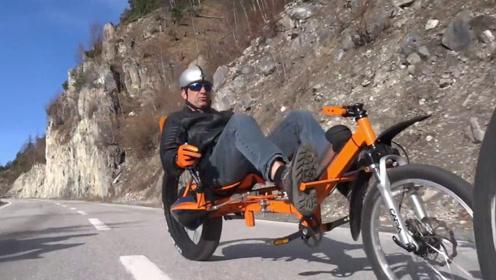 3个创意十足的躺骑自行车,最快的时速60公里,网友:脑洞真大
