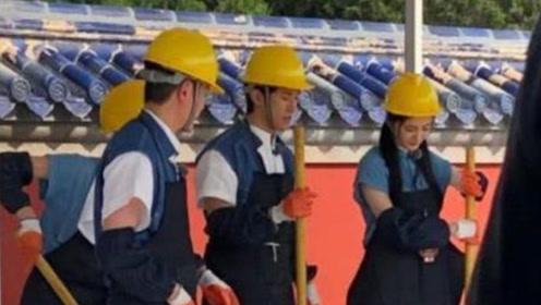 杨幂冯绍峰合体录制节目  时隔8年,二人终于再同台
