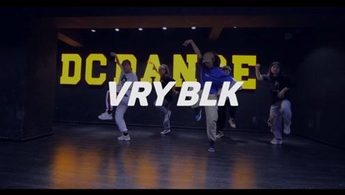 重庆龙酷街舞Hip hop班舞蹈展示《VRY BLK》