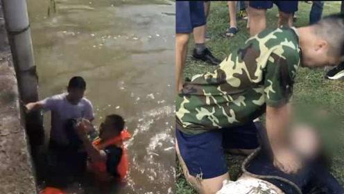 告别英雄吕挺后,杭州消防员返程途中再救落水女子