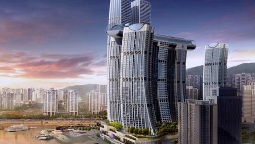 基建狂魔再造神奇建筑,堪称世界网红,英媒:肯定又破纪录了!
