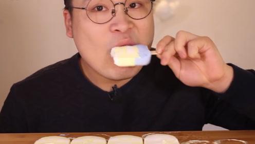 失恋的男人多可怕?一口气吃十个冰棍真的没事吗,网友:别作了
