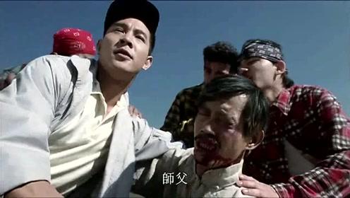 李连杰这段戏比黄飞鸿还帅气!用拳脚倾泻怒火,给老外一顿痛打!