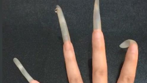 腻了天了,美甲店接到最长的指甲,无语了都