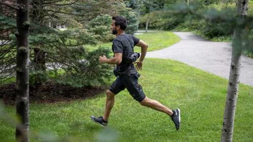 哈佛大学研发仿生短裤,帮助人行走让跑步不再累