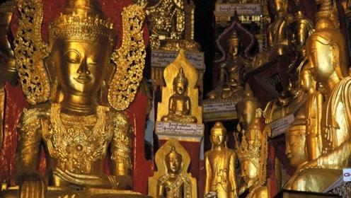 在缅甸扫地能扫出黄金?每次清出几十斤黄金,价值15亿