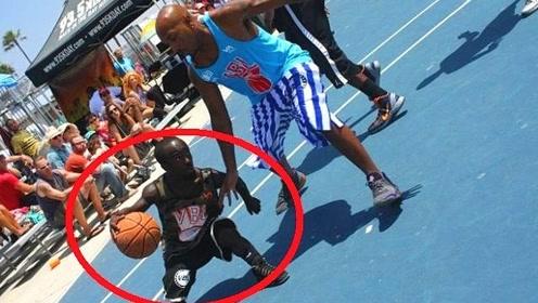 1米35的篮球之神,NBA球员不一定防得住他,有这么恐怖?