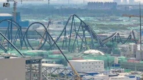 北京环球影城过山车进展 度假区2021年开园