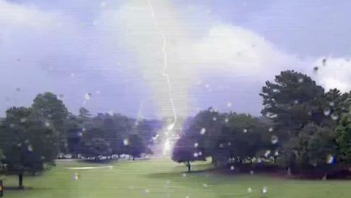 恐怖!美巡赛现场被闪电袭击致六名观众受伤