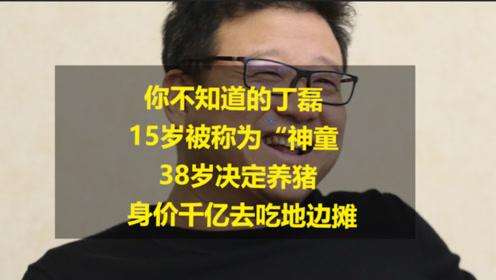 """佛系CEO丁磊,15岁被称为""""神童 """",身价千亿去养猪"""