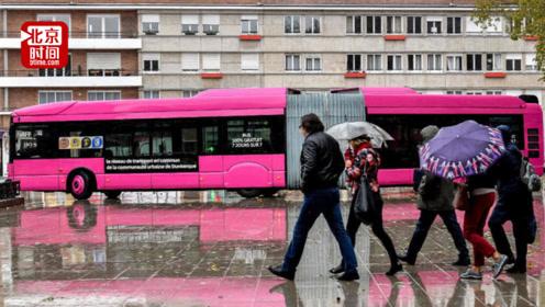 法国民众纷纷卖掉私家车改乘公交!因为免费环保有wifi
